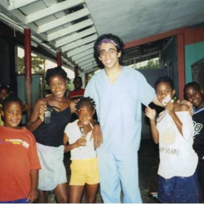 Photo of doctor Kashefi in Jamaica