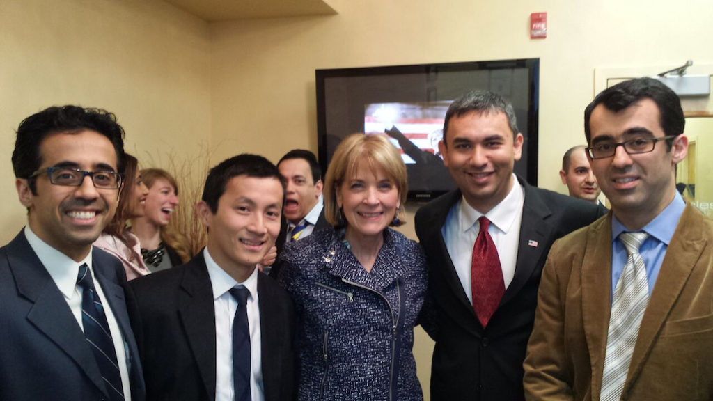 Dr. Abdul with Martha Coakley